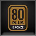 80 PLUS Bronze logo