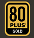 80 PLUS GOLD logo