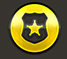 Shield with police badge icon
