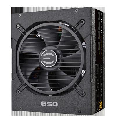 EVGA G+ 120-GP-0850-X1 850 PSU standing up vertically