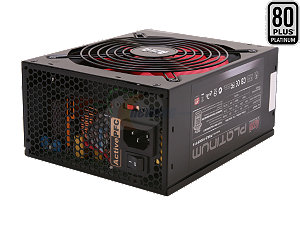 AZZA Platinum 850-Watt 80+ Platinum Power Supply (PSAZ-850PT14)