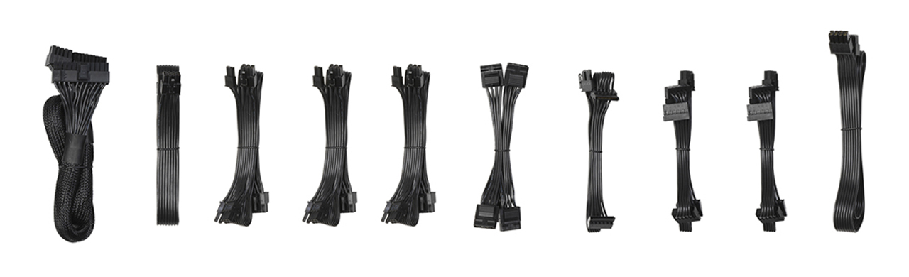 Fractal Ion+ Platinum Power Supply Cables