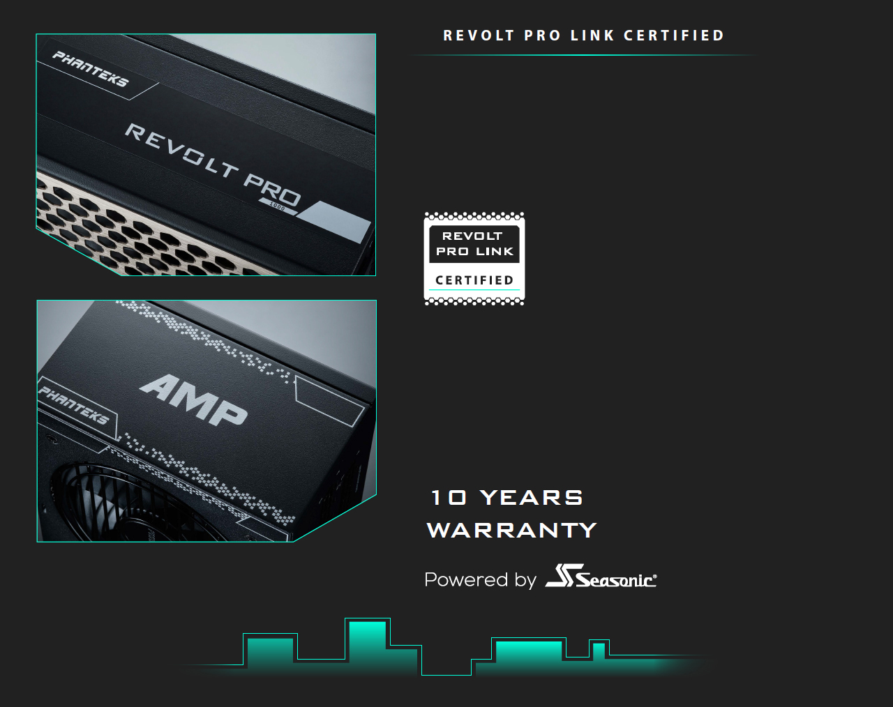 Phanteks AMP Series ATX Power Supply revolt pro link certified