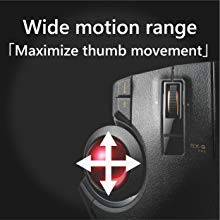 ELECOM Japan Official M-XT3DRBK Thumb Wireless Trackball Mouse
