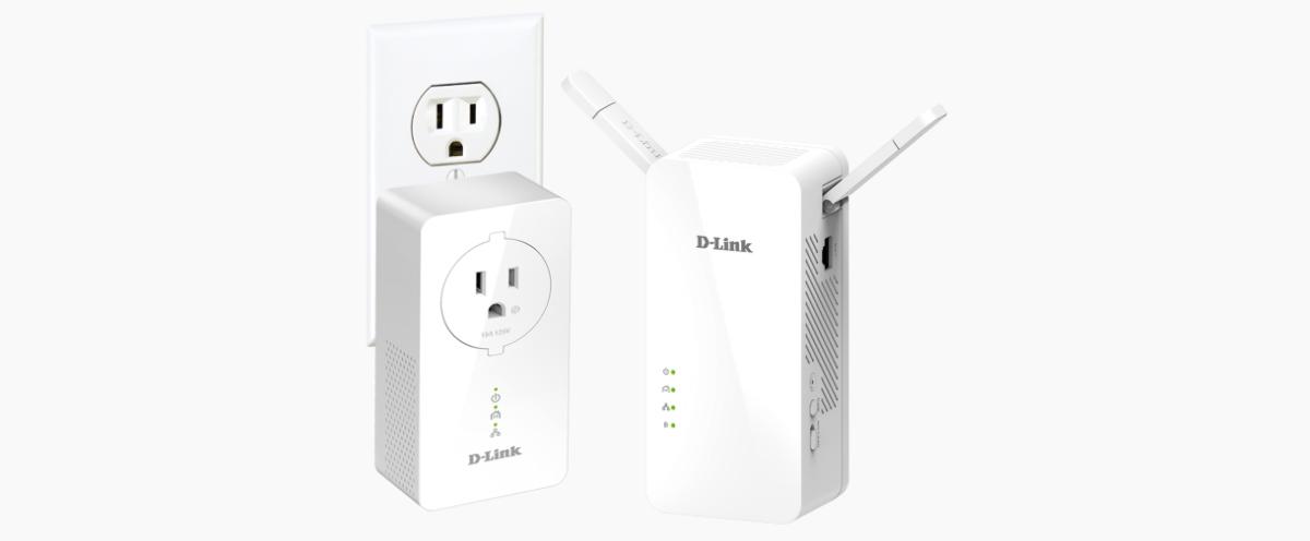 d-link dhp-w611av powerline av1000 wi-fi ac starter kit