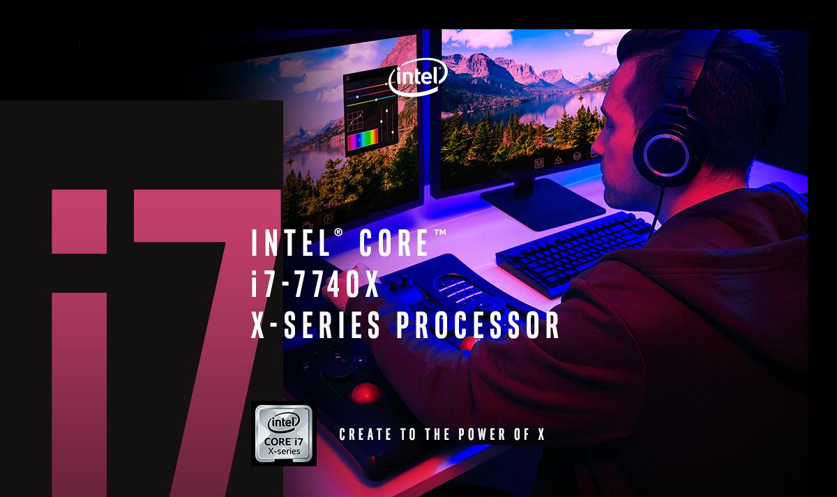 Intel Core i7-7740X Kaby Lake-X Quad-Core 4 3 GHz LGA 2066