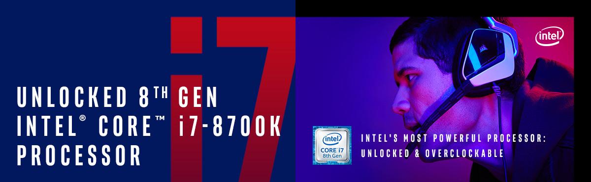 Intel i7-8700K Processor