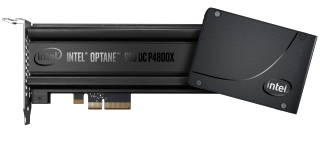 two different types of Intel Optane Memory