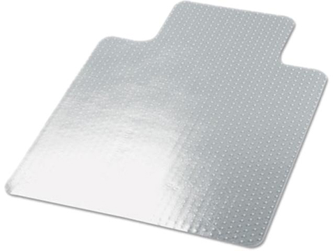 Universal cleated studded chair mat for low and medium pile carpet 87547568071 - Deep pile carpet protector ...