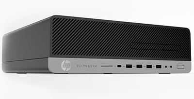 HP Desktop Computer EliteDesk 800 G3 (1FZ00UT#ABA) Intel Core i7 6th Gen  6700 (3 40 GHz) 8 GB DDR4 1 TB HDD Windows 7 Professional 64-Bit (Downgrade