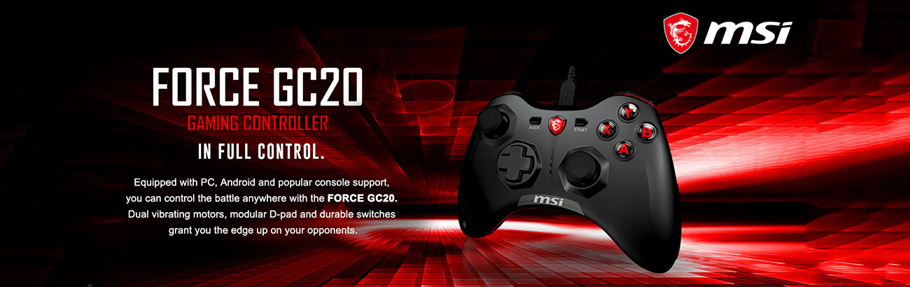 force gc20 gaming controller