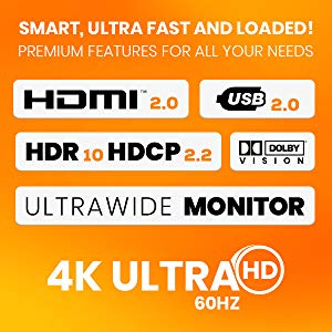 TESmart 2x1 HDMI KVM Switch 4K