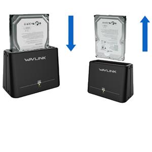 USB 3.0 HDD Storage Docking Station ST33U