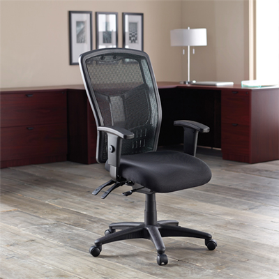 Lorell 86000 Series Executive Mesh High-Back Chair