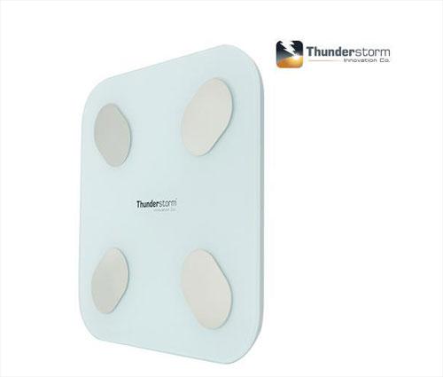 Thunderstorm Bluetooth Body Fat Digital Scale