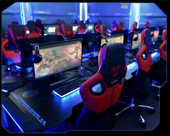 E Blue Usa Wireless Glowing Led Pc Gaming Office Ergonomic