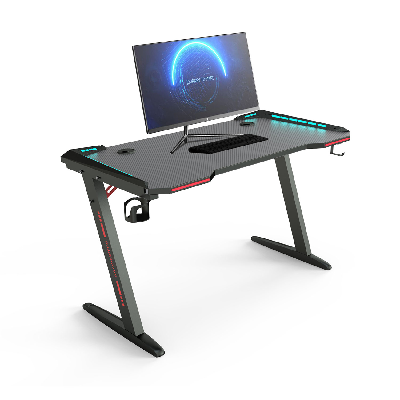 Large PC Computer Gaming Desk