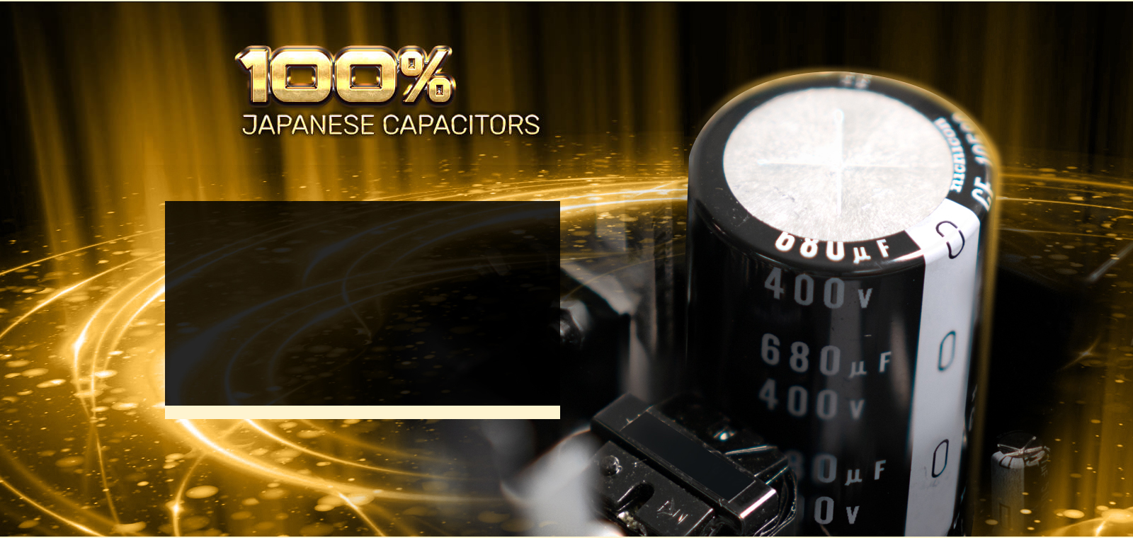 Japanese Capacitor close-up
