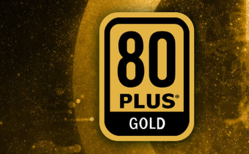 80 Plus Gold Rated