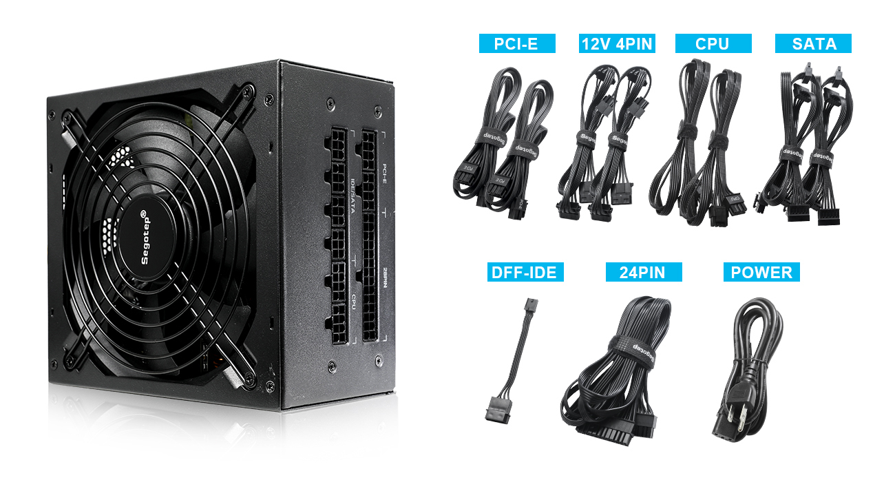 Segotep Power Supply 850W Fully-Modular