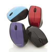 Wireless Notebook Multi-Trac Blue LED Mouse