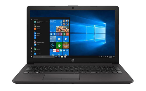 HP Laptop 250 G7 Open and Facing Forward