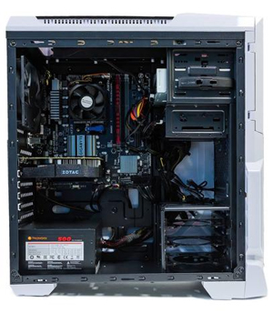 SkyTech ArchAngel GTX 1050 Ti Gaming Computer Desktop PC