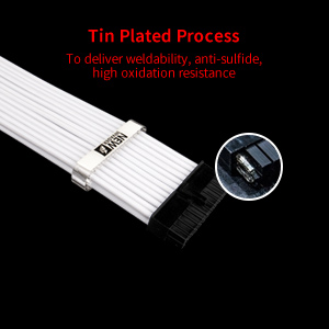 1STPLAYER PC Build Customization Mod Sleeve Extension ATX Power Supply