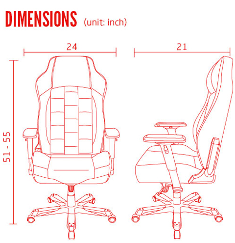 Dxracer Classic Series Office Chairs Oh Ce120 N