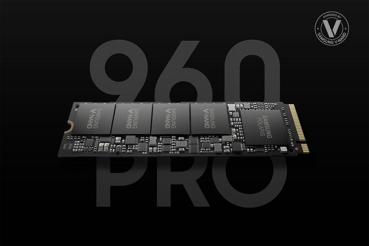 MZ-V6P1T0BW  SAMSUNG 960 PRO M.2 1TB NVMe PCI-Express 3.0 x4 SSD