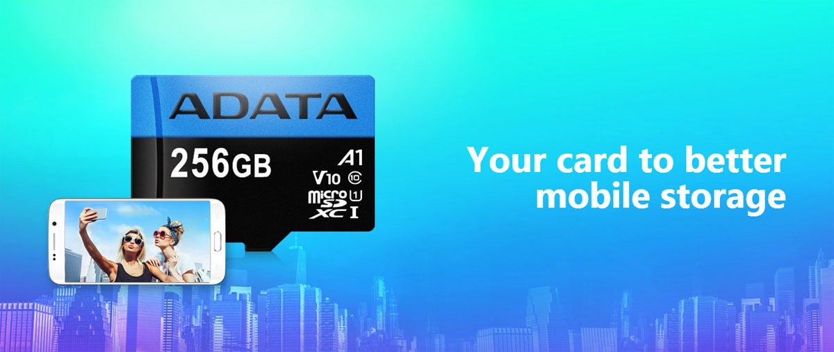 ADATA 128GB Premier microSDXC UHS-I / Class 10 V10 A1 Memory Card with SD  Adapter, Speed Up to 100MB/s (AUSDX128GUICL10A1-RA1) - Newegg com