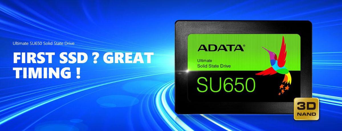 ADATA Ultimate SU650 Solid State Drive