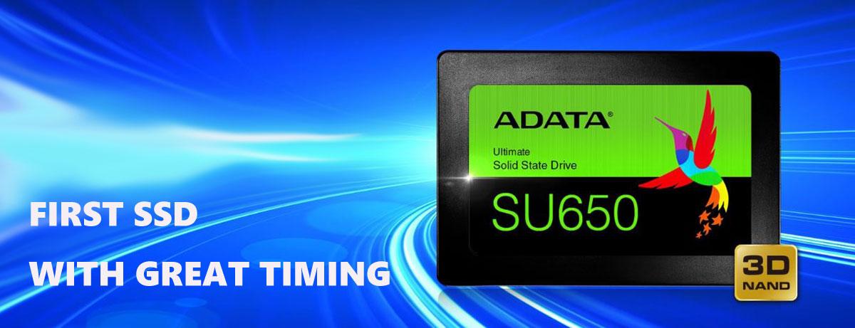 ADATA Ultimate SU650 Disque SSD