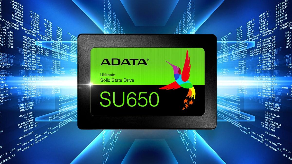 "ADATA Ultimate SU650 2.5"" 120GB SATA III 3D NAND Internal Solid State Drive (SSD) ASU650SS-120GT-R - Newegg.com"