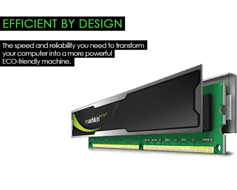 Mushkin Enhanced ECO2 DDR3 SDRAM Desktop Memory