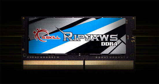 A New Standard of Speed - Ripjaws DDR4 SO-DIMM