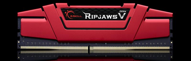 288-Pin DDR4 SDRAM DDR4 2400 PC4 19200 G.SKILL Ripjaws V Series 16GB 2 x 8GB