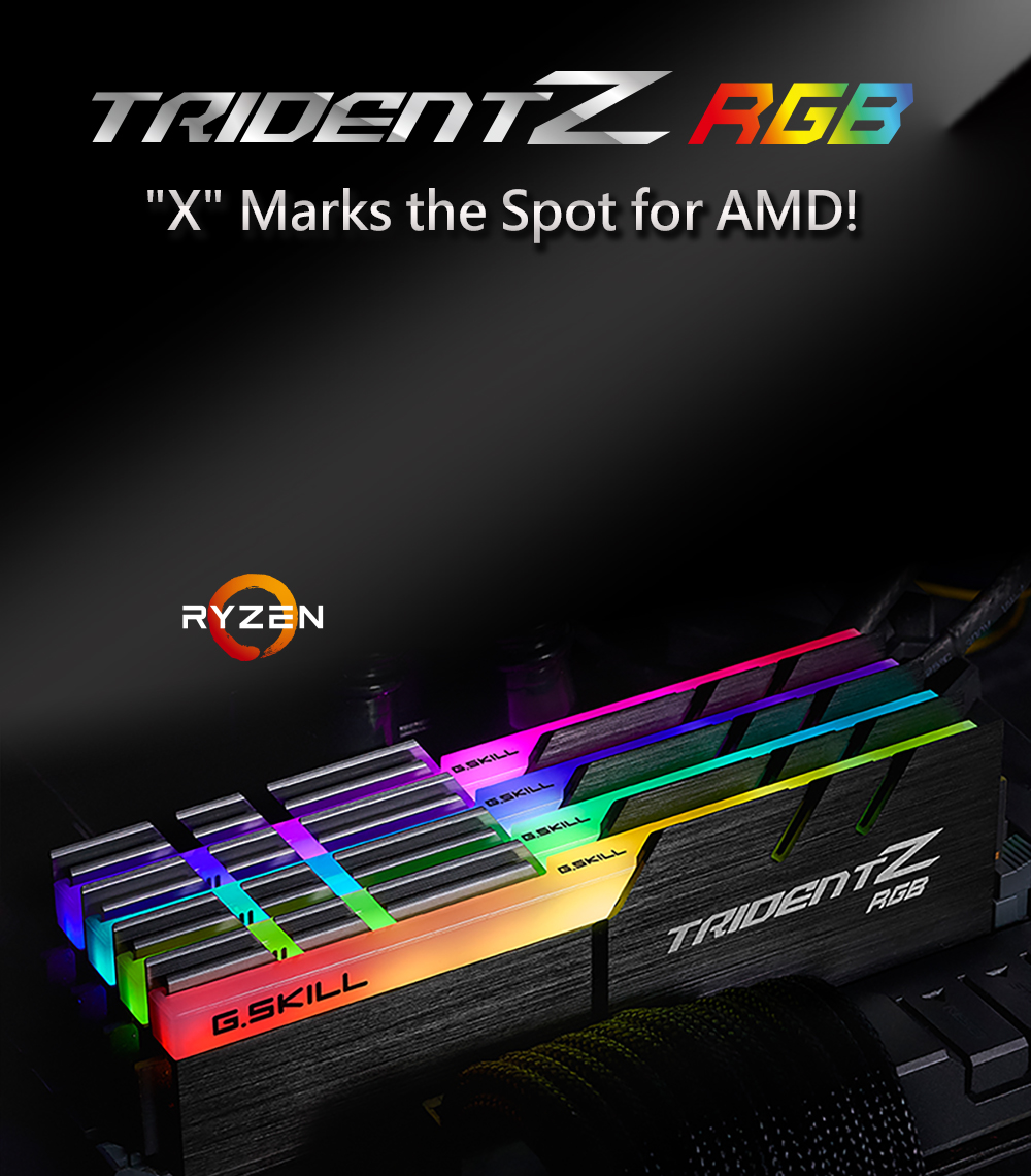 G SKILL Trident Z RGB (For AMD) 16GB (2 x 8GB) 288-Pin DDR4 SDRAM DDR4 3600  (PC4 28800) Desktop Memory Model F4-3600C18D-16GTZRX - Newegg com