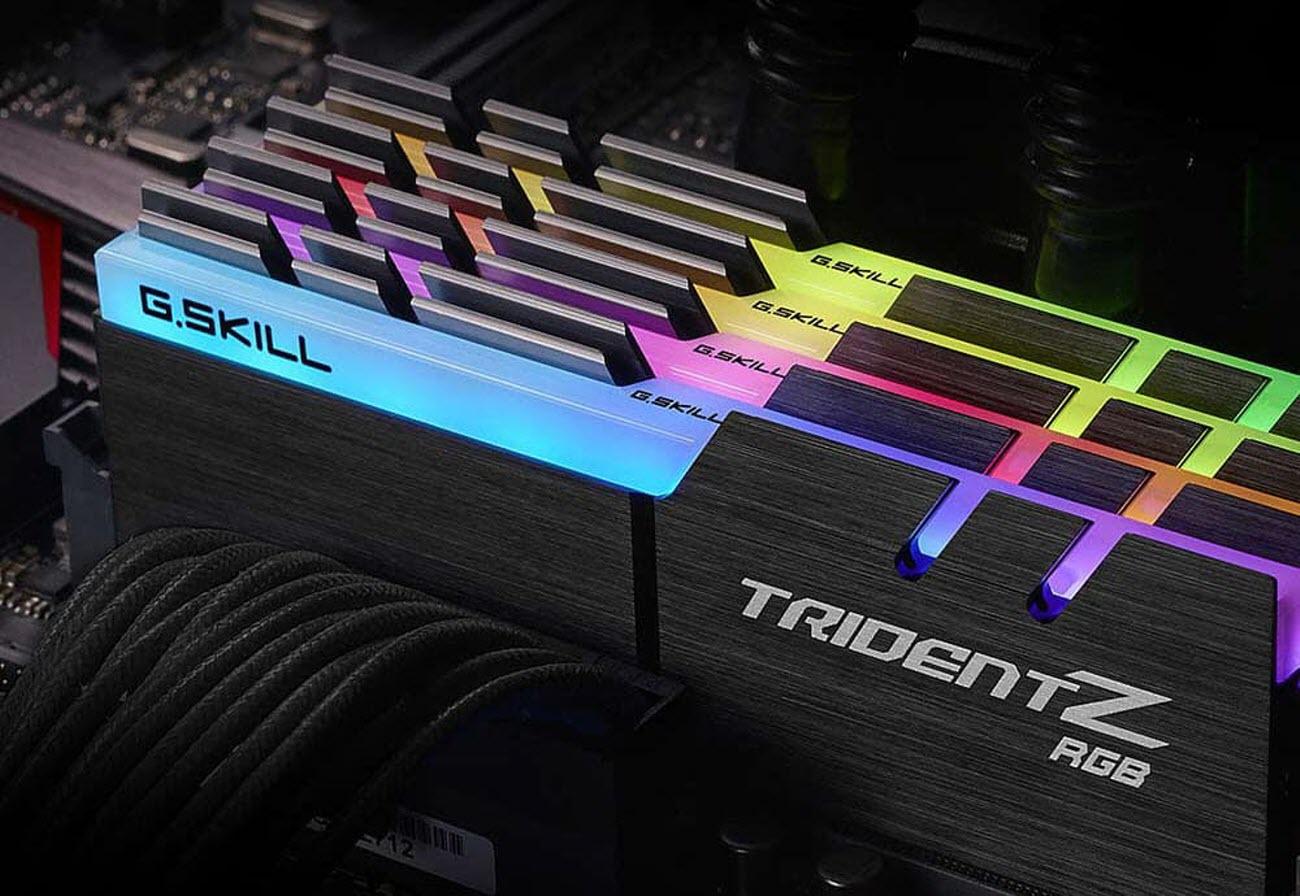 G SKILL TridentZ RGB Series 32GB (2 x 16GB) 288-Pin DDR4 SDRAM DDR4 3000  (PC4 24000) Desktop Memory Model F4-3000C16D-32GTZR - Newegg com