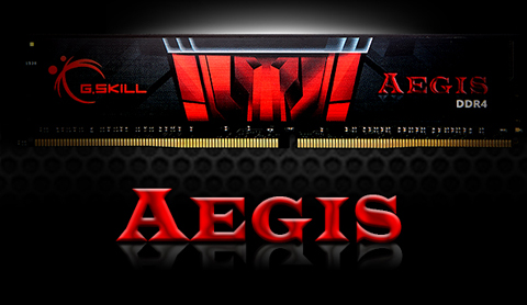 G.Skill AEGIS DDR4 Memory and Graphic Text