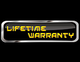 Lifetime Warranty Badge Graphic