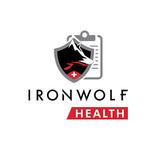 IronWolf health logo