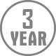 3-2 Year Warranty