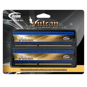 Team Vulcan PC3 12800 DDR3 / DDR3L 1600 4GBx2 Desktop Memory TLBD38G1600HC9DC01
