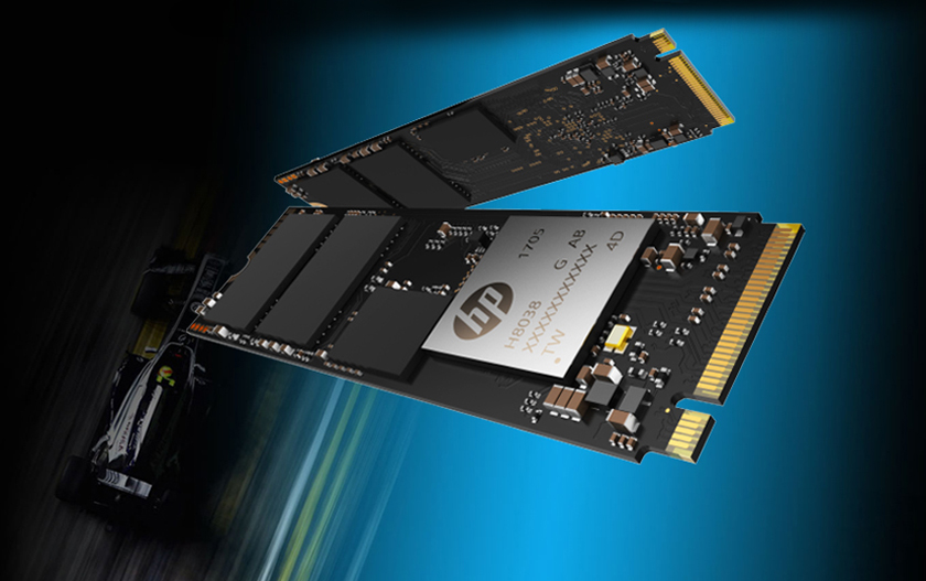 HP EX920 M.2 256GB PCIe 3.0 x4 NVMe 3D TLC NAND Internal Solid ...