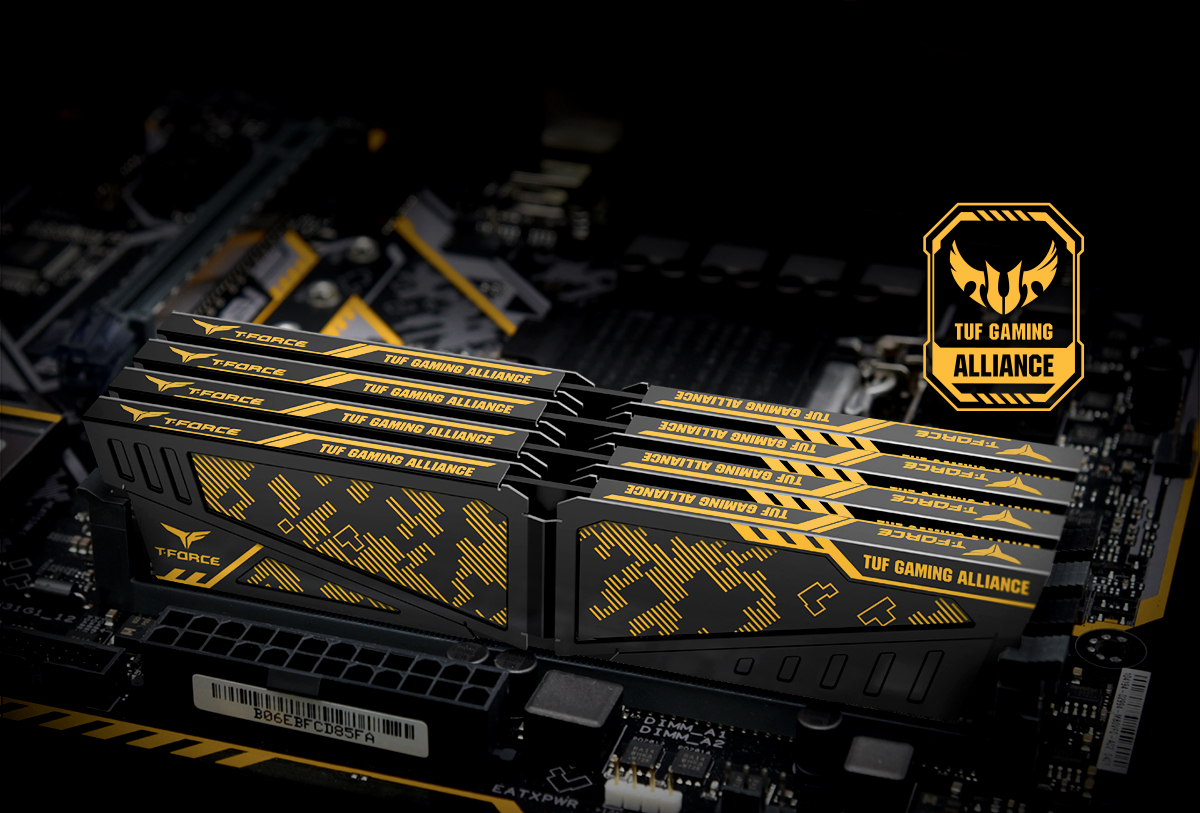 vulcan tuf gaming alliance ddr4