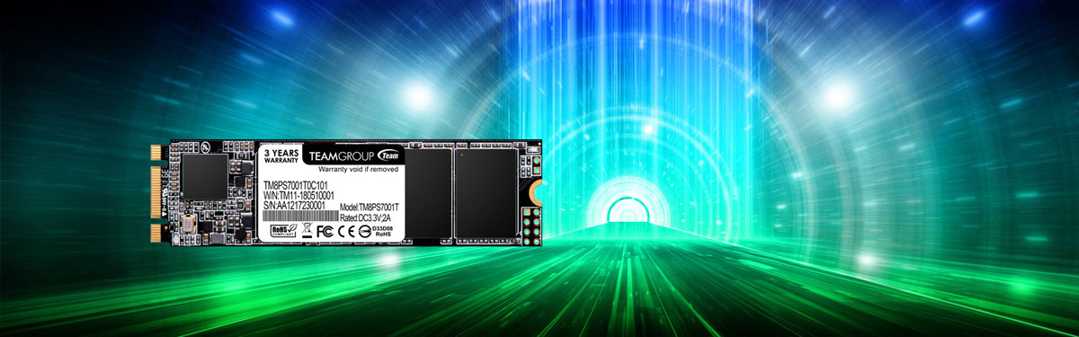 Team Group MS30 Next-generation M.2 SATA solid-state drive main banner