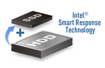 Intel Smart Response Technology Connecting an HDD and SSD