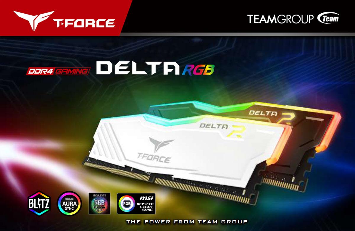 Team T-Force Delta RGB 16GB (2 x 8GB) 288-Pin DDR4 SDRAM DDR4 3200 (PC4  25600) Desktop Memory Model TF3D416G3200HC16CDC01 - Newegg com