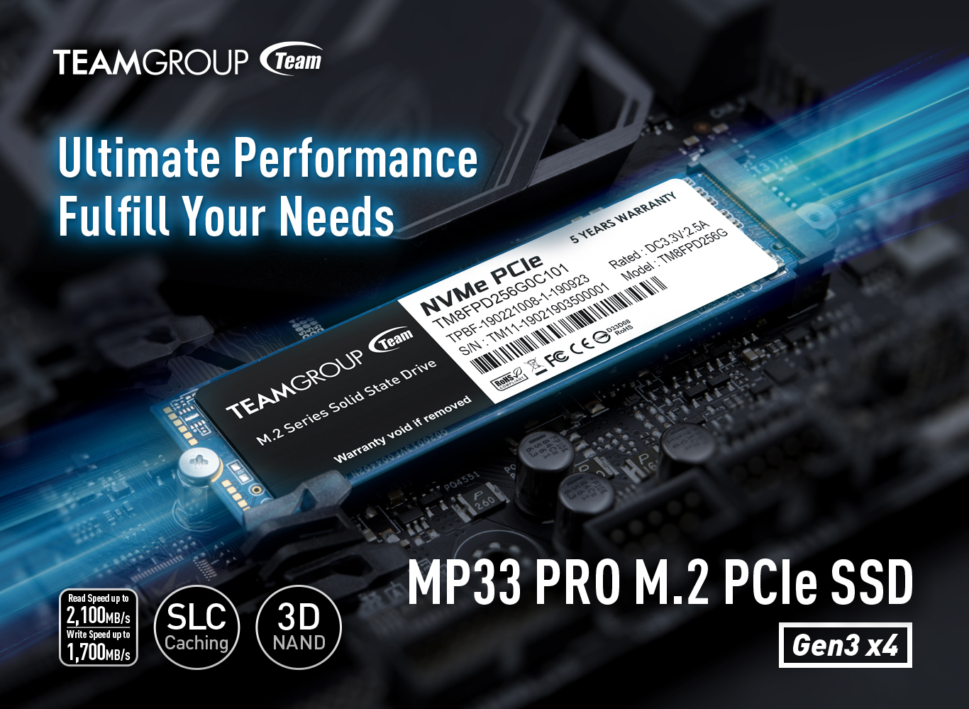 Team Group MP33 PRO Solid State Drive